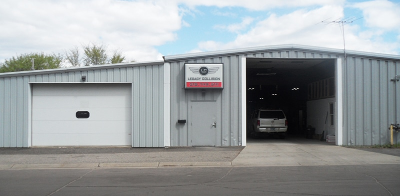 About Us - Photo of our Auto Body Garage